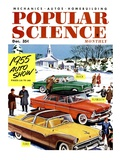 Front Cover of Popular Science Magazine: December 1, 1955 Art