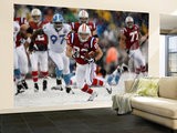 Titans Patriots Football: Foxborough, MA - Wes Welker Wall Mural – Large by Winslow Townson
