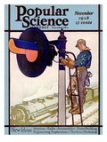 Front Cover of Popular Science Magazine: November 1, 1928 Prints