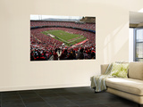 Falcons 49ers Football: San Francisco, CA - Candlestick Park Veggmaleri av George Nikitin