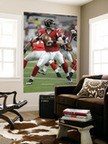 Bills Falcons Football: Atlanta, GA - Matt Ryan Reproduction murale géante par John Amis