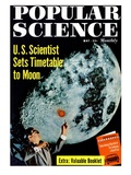 Front cover of Popular Science Magazine: May 1, 1950 Poster
