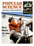 Front cover of Popular Science Magazine: October 1, 1950 Prints