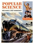 Front cover of Popular Science Magazine: July 1, 1951 Prints
