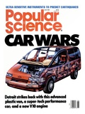 Front cover of Popular Science Magazine: June 1, 1989 Print