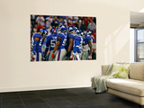 Cardinals Giants Football: East Rutherford, NJ - Giants Defense Wall Mural by Tim Larsen