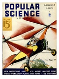 Front Cover of Popular Science Magazine: August 1, 1930 Prints