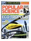 Front cover of Popular Science Magazine: July 1, 2008 Print