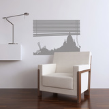 It is 5 o'clock-Large-Grey Wall Decal