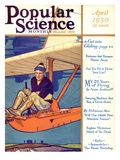 Front Cover of Popular Science Magazine: April 1, 1930 Giclee Print