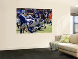 Raiders Giants Football: East Rutherford, NJ - Eli Manning Wall Mural by Bill Kostroun