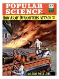 Front cover of Popular Science Magazine: June 1, 1940 Posters