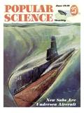 Front cover of Popular Science Magazine: June 1, 1949 Umělecké plakáty