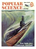 Front cover of Popular Science Magazine: June 1, 1949 Giclee Print