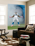 Redskins Panthers Football: Charlotte, NC - DeAngelo Williams Wall Mural by Chuck Burton