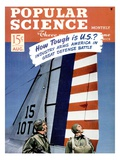 Front Cover of Popular Science Magazine: August 1, 1940 Posters