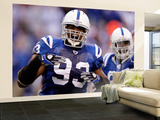 49ers Colts Football: Indianapolis, IN - Dwight Freeney and Robert Mathis Wall Mural – Large by Michael Conroy