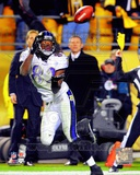 Torrey Smith Game Winning Touchdown Catch Vs. the Pittsburgh Steelers 2011 Action Photo