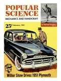 Front cover of Popular Science Magazine: February 1, 1951 Posters