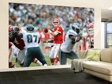 Chiefs Eagles Football: Philadelphia, PA - Matt Cassel Wall Mural – Large by Michael Perez