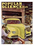Front cover of Popular Science Magazine: November 1, 1946 Pósters