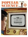 Front cover of Popular Science Magazine: February 1, 1949 Giclee Print