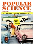 Front cover of Popular Science Magazine: October 1, 1930 Giclee Print