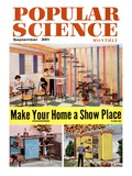 Front cover of Popular Science Magazine: September 1, 1950 Print