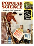 Front cover of Popular Science Magazine: April 1, 1950 Prints