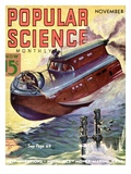 Front cover of Popular Science Magazine: November 1, 1930 Affischer