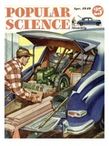 Front cover of Popular Science Magazine: April 1, 1949 Prints