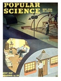 Front cover of Popular Science Magazine: March 1, 1946 Prints