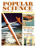 Front Cover of Popular Science Magazine: November 1, 1950 Art