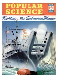 Front cover of Popular Science Magazine: March 1, 1940 Poster