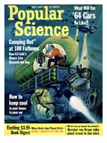 Front cover of Popular Science Magazine: July 1, 1963 - Reprodüksiyon