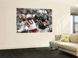Redskins Raiders Football: Oakland, CA - Darren Mcfadden Wall Mural by Jeff Chiu