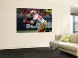 49ers Rams Football: St. Louis, MO - Vernon Davis Wall Mural by Jeff Roberson