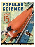 Front Cover of Popular Science Magazine: May 1, 1930 Giclee Print