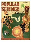 Front cover of Popular Science Magazine: October 1, 1930 Pster