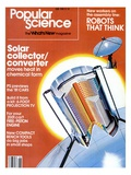 Front cover of Popular Science Magazine: June 1, 1980 Art