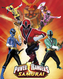 Power Rangers-Strike Affiches