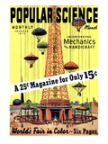 Front Cover of Popular Science Magazine: March 1, 1930 Planscher