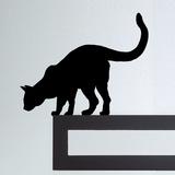 Cat I-Black Kalkomania ścienna