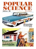 Front cover of Popular Science Magazine: February 1  1950