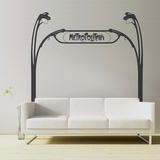 Metro Guimard-Black Wall Decal