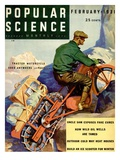 Front Cover of Popular Science Magazine: February 1, 1931 Giclee Print