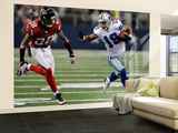 Falcons Cowboys Football: Arlington, TX - Miles Austin Wall Mural – Large by Lm Otero
