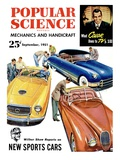 Front cover of Popular Science Magazine: September 1, 1951 Posters