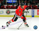 Brent Seabrook 2011-12 Action Photo