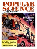 Front Cover of Popular Science Magazine: August 1, 1950 - Reprodüksiyon